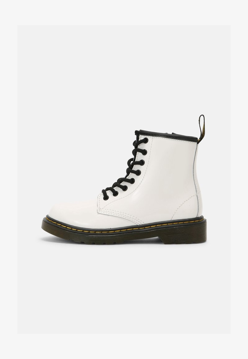 Dr. Martens - 1460 J - Lace-up ankle boots - white patent lamper