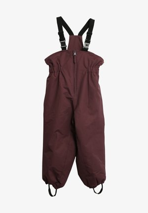 Outdoor trousers - soft eggplant