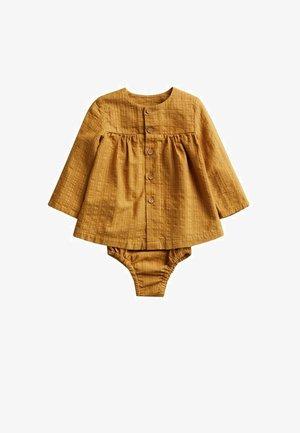 BRINA - Shirt dress - sennepsgul