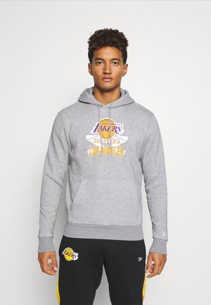 LOS ANGELES LAKERS NBA GRAPHIC PO HOODY - Club wear - grey