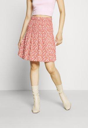 YASMITURA SKIRT - Mini skirt - red