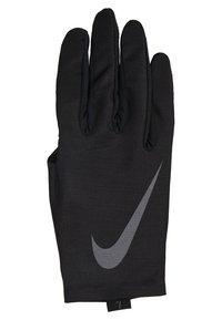 Nike Performance - PRO WARM MENS LINEAR GLOVES - Gloves - black/dark grey - 3