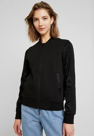 LADIES - veste en sweat zippée - black