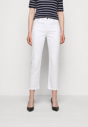 Straight leg jeans - white wash