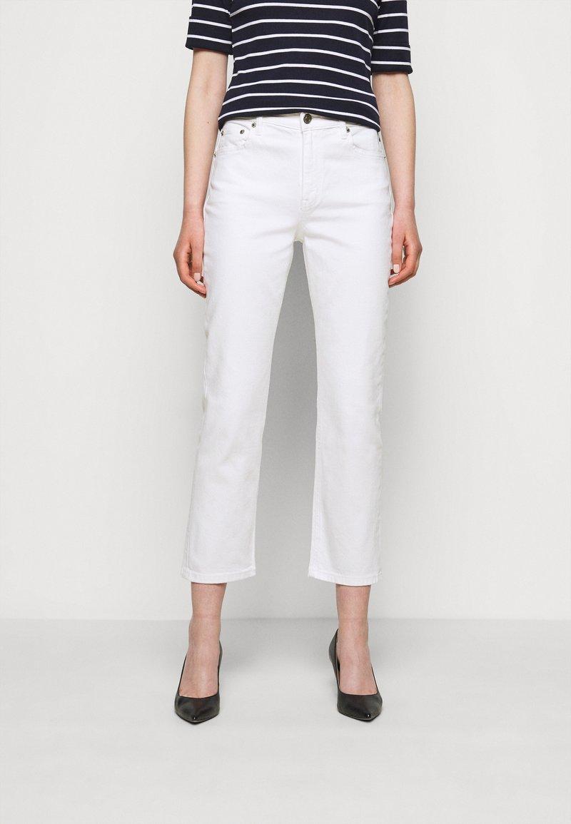 Lauren Ralph Lauren - Straight leg jeans - white wash