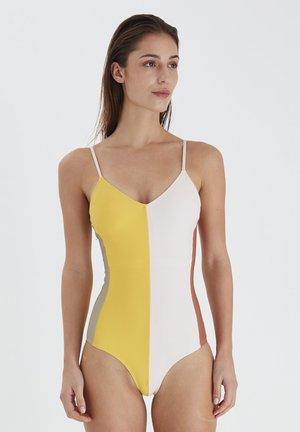 IAJONNA BLOCK - Swimsuit - yarrow