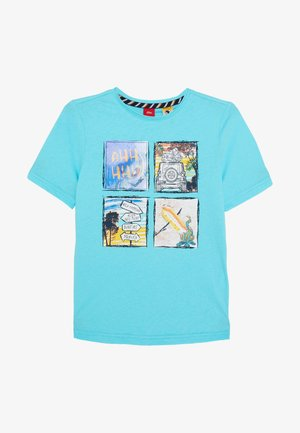 KURZARM - Camiseta estampada - türkisblau