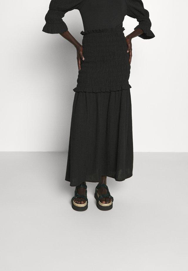 ARMERIA - Spódnica trapezowa - black