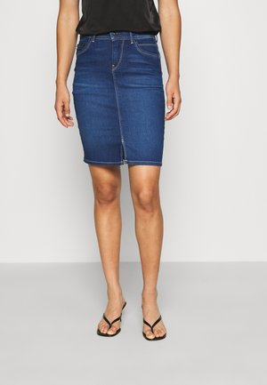 TAYLOR - Pencil skirt - denim