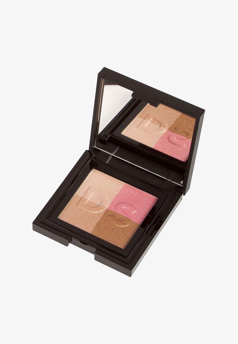 Daniel Sandler - RADIANT SHEEN - Highlighter - pink, peach, bronze, cream