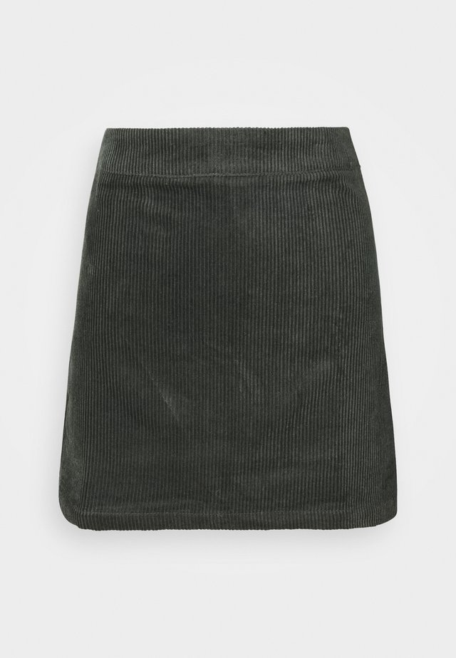 LADIES SKIRT  - Korte jurk - dark green
