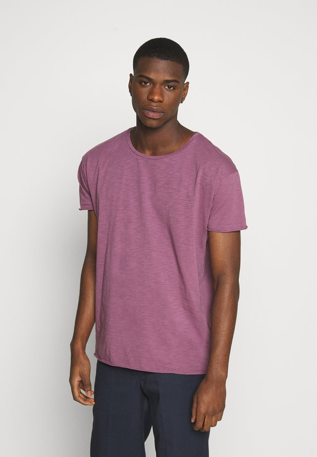 ROGER - Jednoduché triko - violet