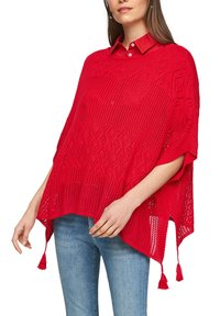 s.Oliver - Cape - red - 3