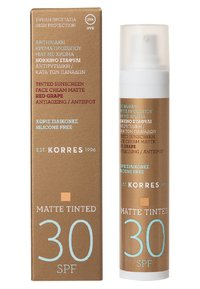 Korres - RED GRAPE ANTI-AGEING/ANTI-SPOT TINTED MATTE SUNCREEN SPF30 - Sun protection - - - 1