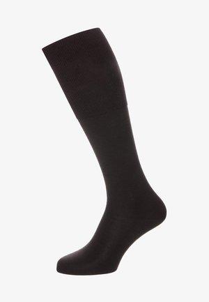 AIRPORT - Knee high socks - brown
