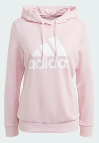 adidas Performance - ESSENTIALS RELAXED LOGO HOODIE - Jersey con capucha - pink - 8
