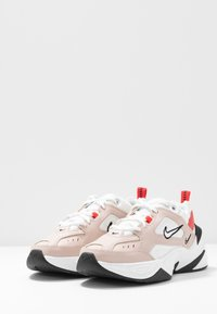 Nike Sportswear - M2K TEKNO - Sneakers - fossil stone/summit white/track red/black/oracle aqua - 4