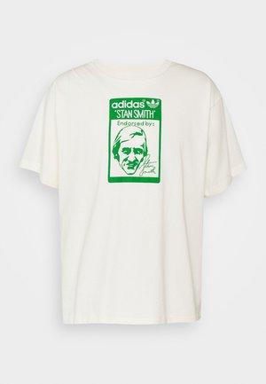 TONGUE STAN TEE UNISEX - Camiseta estampada - white