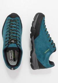 Scarpa - MOJITO TRAIL - Hiking shoes - lakeblue - 1