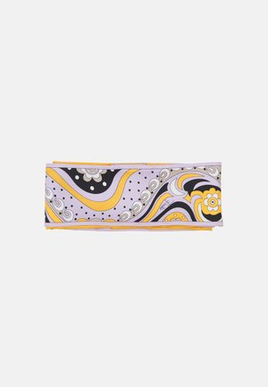 PRINTED AMELIE BABY HAIR BAND UNISEX - Hair styling accessory - giallo/lilla