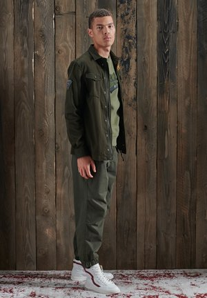 Summer jacket - army green