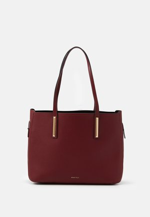 SET - Handtasche - dark red