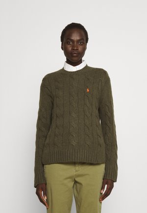 CLASSIC LONG SLEEVE - Maglione - loden heather