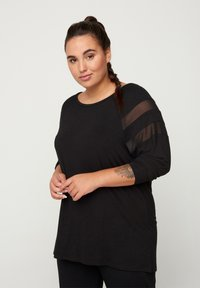 Active by Zizzi - Long sleeved top - black - 0