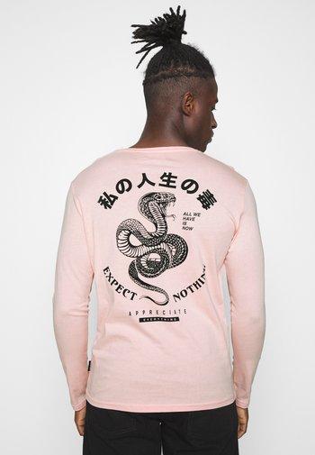 UNISEX - Long sleeved top - pink