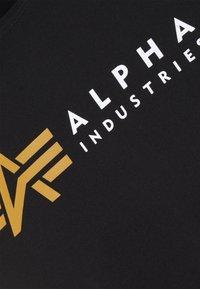 Alpha Industries - LABEL - Print T-shirt - black - 2