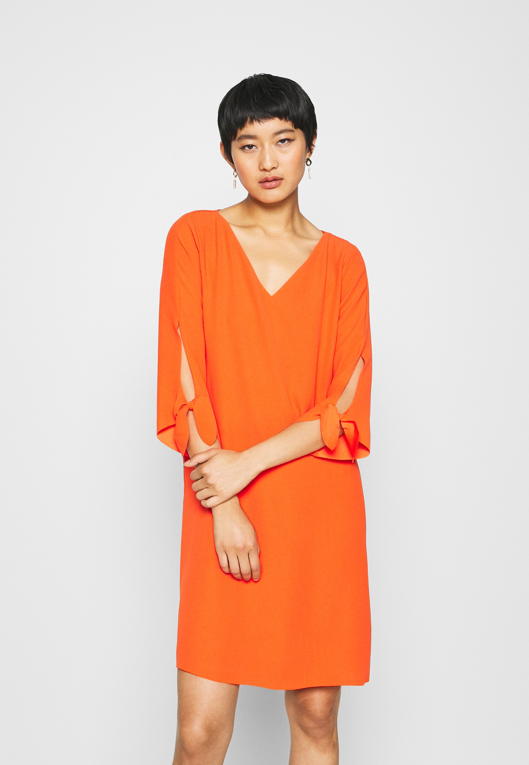 DRESS   Freizeitkleid   red orange