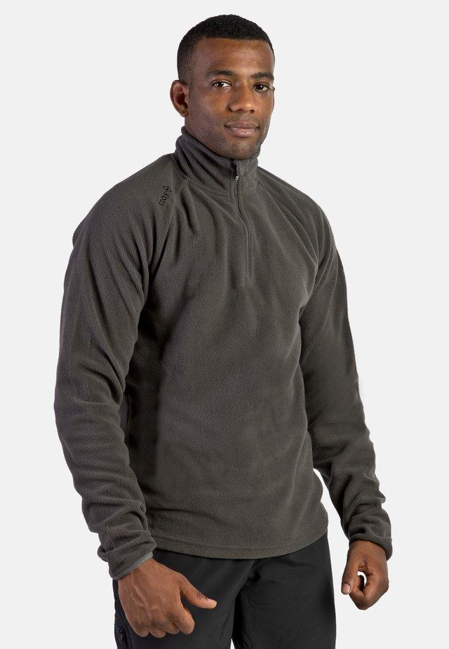 SUTTON - Fleece jacket - dark grey