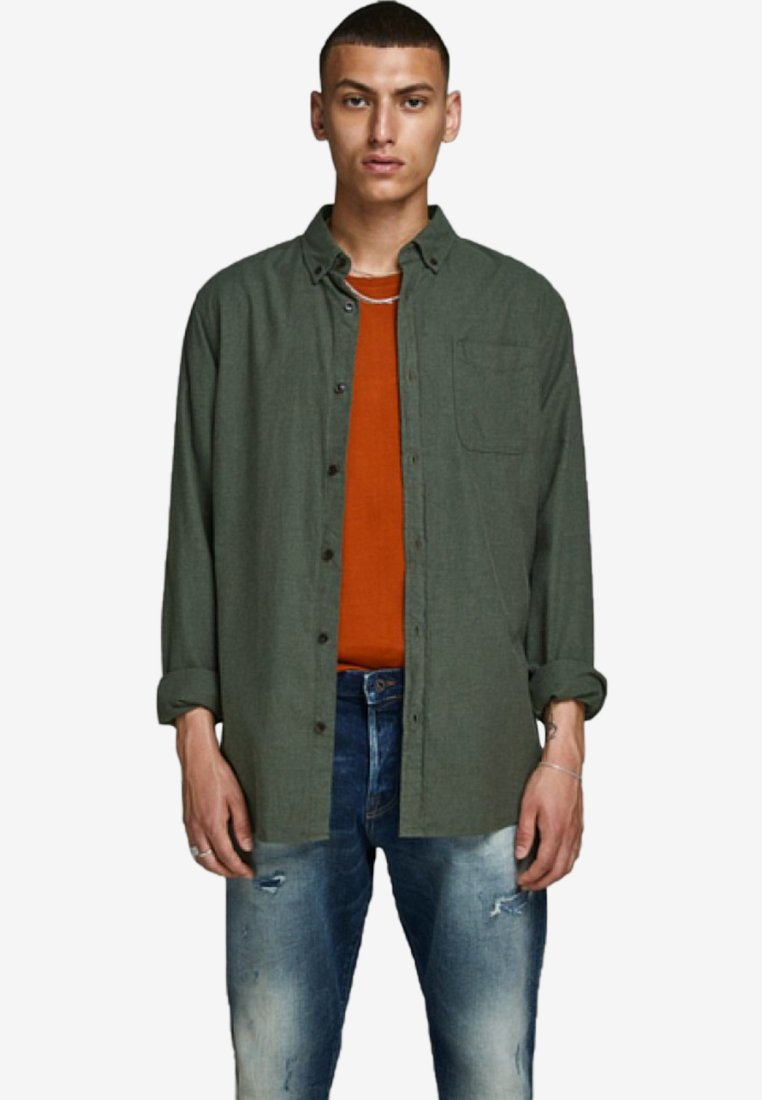 Jack & Jones - Skjorter - olive night