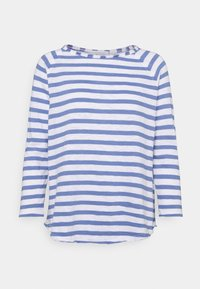 Rich & Royal - HEAVY STRIPED - Long sleeved top - sky blue - 0