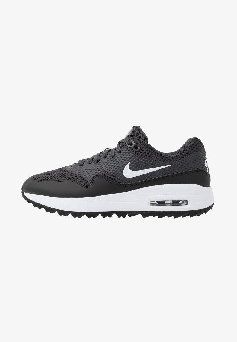 Nike Golf - AIR MAX 1 G - Golf shoes - black/white/anthracite