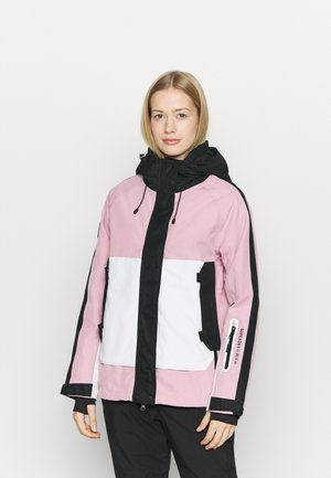 FREESTYLE ATTACK JACKET - Kurtka narciarska - soft pink