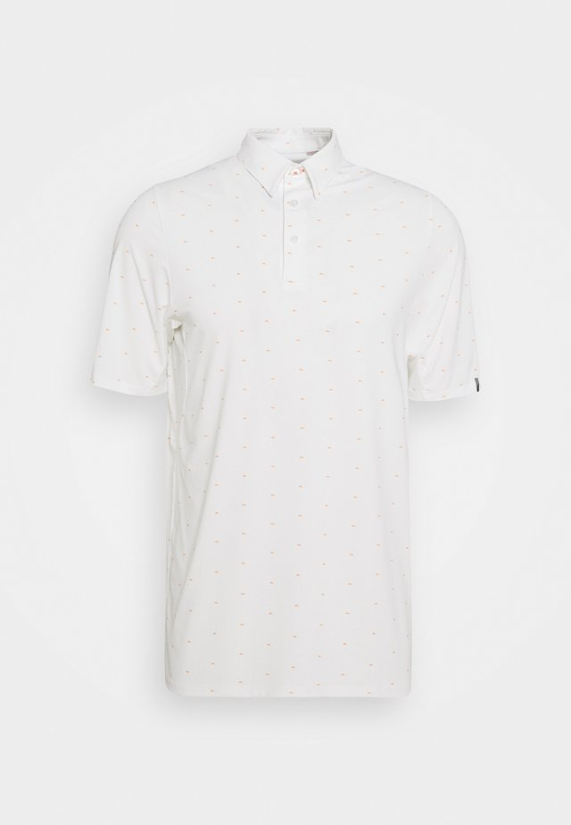SOTTO - Polo shirt - white/orange