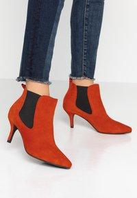 Shoe The Bear - AGNETE CHELSEA  - Ankle boots - red - 0