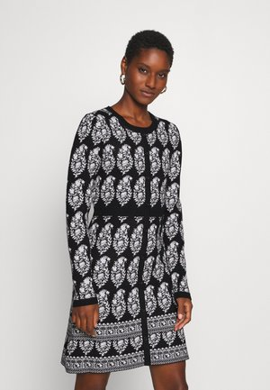 DEAUVILLE ROBE - Jumper dress - black