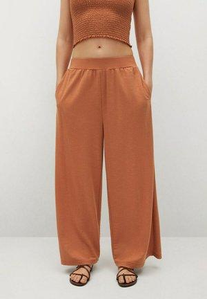 Pantalon classique - burnt orange