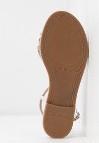 CAFèNOIR - Sandals - argento - 6