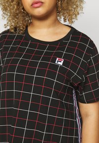 Fila Plus - WINONA TEE DRESS - Vestito di maglina - black - 5
