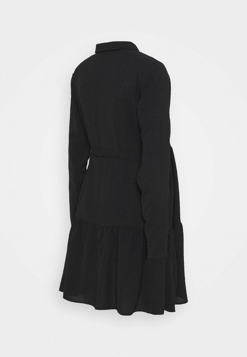 New Look Maternity PLAIN DRESS - Blusenkleid - black/schwarz gaxACt