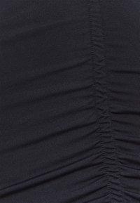 Vero Moda Tall - VMNEXT 3/4  V NECK - Long sleeved top - black - 2