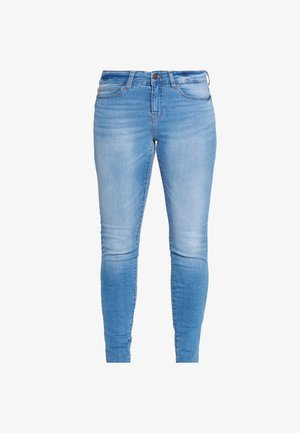 NMLUCY - Jeansy Skinny Fit - light blue denim