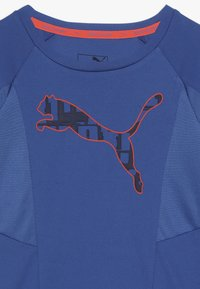 Puma - ACTIVE SPORTS TEE  - Print T-shirt - galaxy blue - 4
