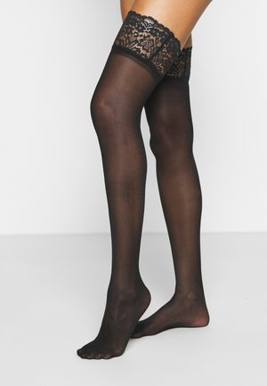 SUSTAINABLE - Over-the-knee socks - black