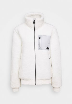 VOKAT TEDDY - Fleece jacket - snow white