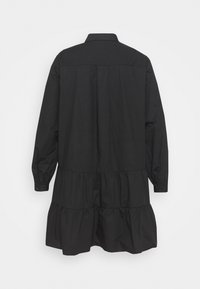 Missguided Plus - TIERED SMOCK DRESS - Robe chemise - black - 1