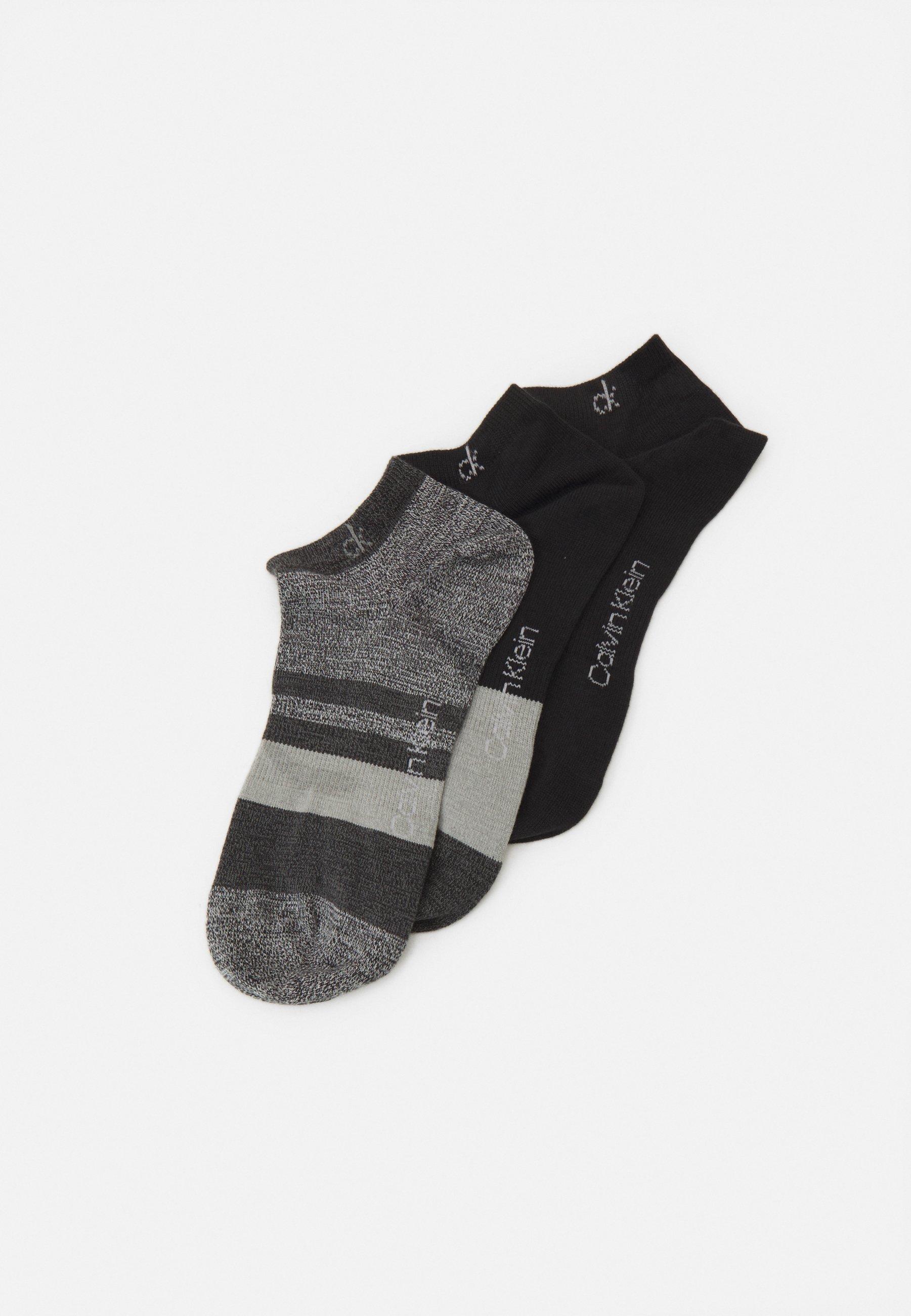 Women FLAT NO SHOW BILLY 3 PACK UNISEX - Trainer socks